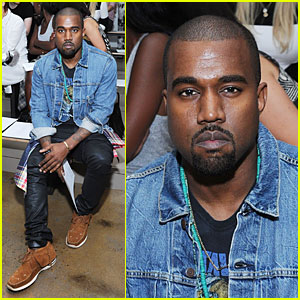 Kanye West: Louise Goldin Fashion Show!