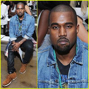 Kanye West: Louise Goldin Fashion Show!