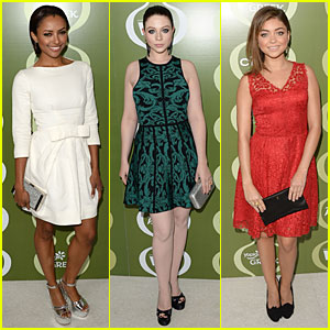 Kat Graham & Michelle Trachtenberg: Variety Pre-Emmy Party!
