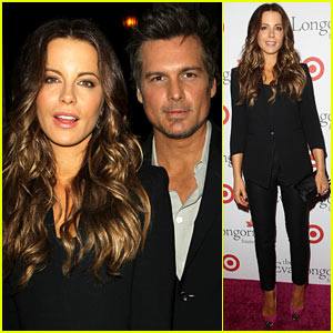 Kate Beckinsale & Len Wiseman: Eva Longoria Foundation Dinner!