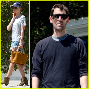 Newlyweds Kate Bosworth & Michael Polish Go House Hunting!