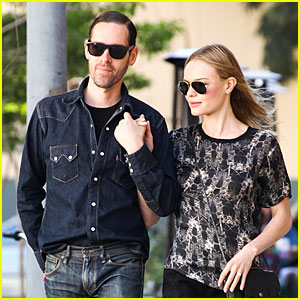 Kate Bosworth & Michael Polish Hold Hands As Newlyweds!