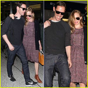 Kate Bosworth & Michael Polish: LAX Couple After Wedding!