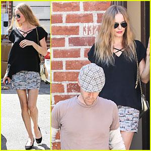 Kate Bosworth & Michael Polish: Newlyweds Visit Studio!