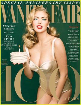 Kate Upton Channels Marilyn Monroe for Vanity Fair's 100th!