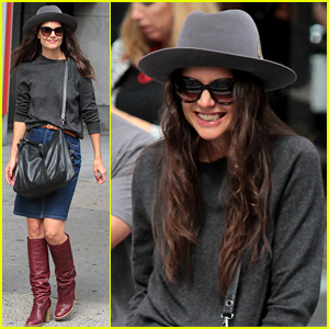 Katie Holmes Joins 'The Giver' as Brenton Thwaites' Mother