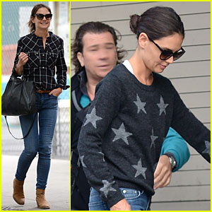 Katie Holmes Wears Two Outfits to Wrap Up Week!