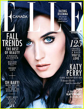 Katy Perry Covers 'Elle Canada' October 2013