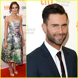 Keira Knightley & Adam Levine: 'Song' Premiere at TIFF!