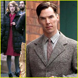Keira Knightley & Benedict Cumberbatch: 'Imitation Game' Set!