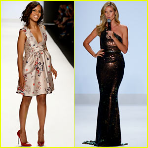 Kerry Washington & Heidi Klum: Project Runway Fashion Show!