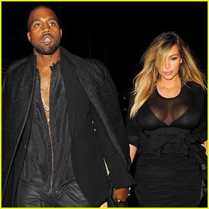 Kim Kardashian & Kanye West: Givenchy Fashion Show!
