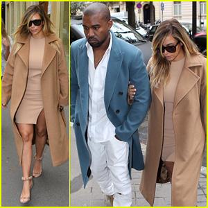 Kim Kardashian & Kanye West: L'Avenue Lunch Duo!