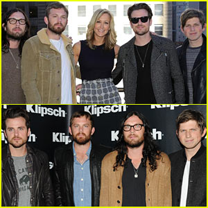 Kings of Leon Perform on 'GMA' After Klipsch Announcement!
