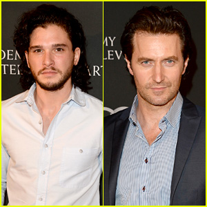 Kit Harington & Richard Armitage: BAFTA LA TV Tea Party 2013