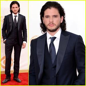 Kit Harington - Emmy Awards Red Carpet 2013