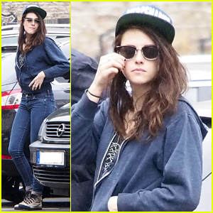 Kristen Stewart Strolls Around Berlin on Labor Day