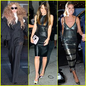 Lady Gaga & Jessica Biel: Fashion Media Awards 2013!