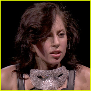 Lady Gaga Reveals Real Hair During iTunes Festival (Photos)