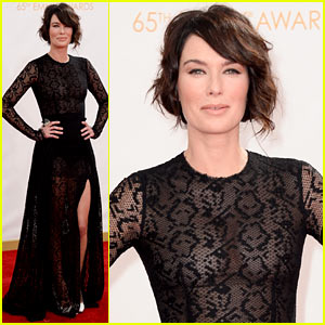 Lena Headey - Emmys 2013 Red Carpet!