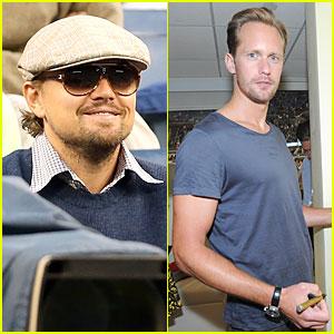 Leonardo DiCaprio & Alexander Skarsgard: U.S. Open Men's Final!