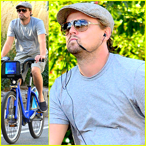 Leonardo DiCaprio Rooted for Denis Istomin at U.S. Open!