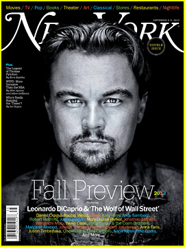 Leonardo DiCaprio Covers 'New York' Mag's Fall Preview Issue