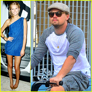 Leonardo DiCaprio & Toni Garrn: Separate NYC Sightings!