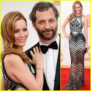 Leslie Mann & Judd Apatow - Emmys 2013 Red Carpet