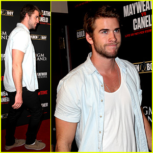 Liam Hemsworth: Mayweather vs. Alvarez Fight in Vegas!