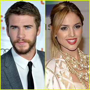 Liam Hemsworth Kisses Eiza González After Miley Cyrus Split