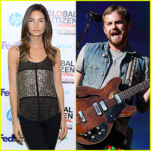 Lily Aldridge & Caleb Followill: Global Citizen Festival Couple!