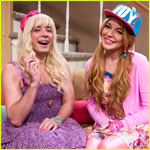 Lindsay Lohan: 'Ew' Sketch with Jimmy Fallon - WATCH NOW!