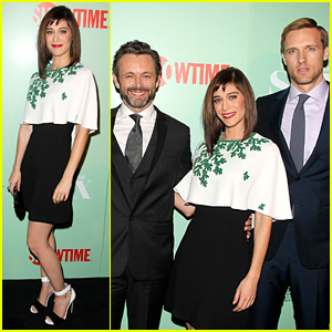Lizzy Caplan & Michael Sheen: 'Masters of Sex' NYC Premiere!