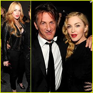 Madonna & Lindsay Lohan: SecretProjectRevolution Launch!