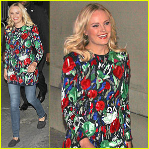 Malin Akerman: 'Jimmy Kimmel Live' Appearance - Watch Now!