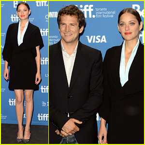Marion Cotillard: 'Blood Ties' TIFF Press Conference!