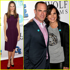 Mariska Hargitay & Chris Meloni Reunite at JoyRocks Event!