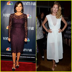 Mariska Hargitay & Doutzen Kroes: NBC's Fall Launch Party!