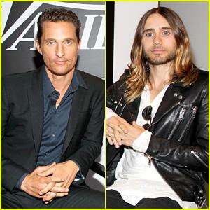 Matthew McConaughey & Jared Leto: Variety Studio at TIFF!