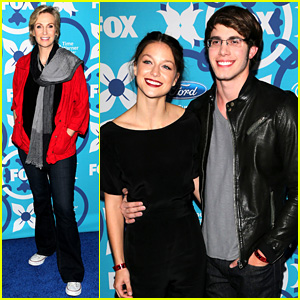 Melissa Benoist & Blake Jenner: Fox Fall Eco-Casino Party!