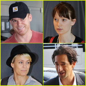 Mia Wasikowska, Michael C. Hall, & More Depart TIFF!
