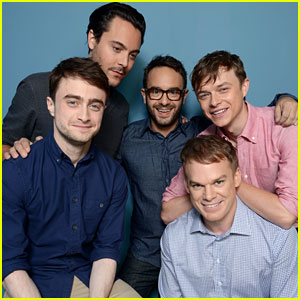 Michael C. Hall & Daniel Radcliffe: 'Kill Your Darlings' TIFF Cast Portraits
