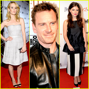 Michael Fassbender & Sarah Paulson: Fox Searchlight Party!