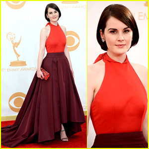 Michelle Dockery - Emmys 2013 Red Carpet