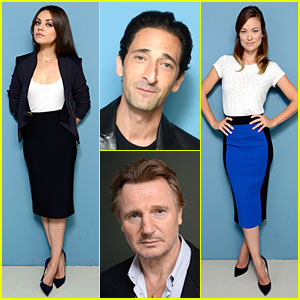 Mila Kunis & Olivia Wilde: 'Third Person' TIFF Portrait Session!