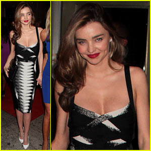 Miranda Kerr: 'Romeo & Juliet' Broadway After Party!
