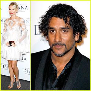Naomi Watts & Naveen Andrews: 'Diana' Paris Premiere!