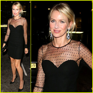 Naomi Watts Switches Dresses for 'Diana' Premiere Party!