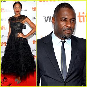 Naomie Harris & Idris Elba: 'Mandela' Toronto Premiere!